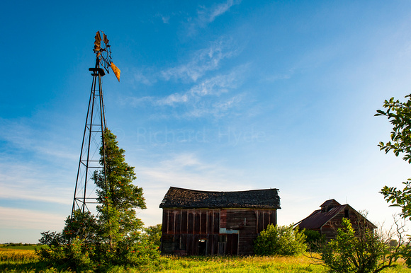 Old Barn, Odell IL, Windmill, Route 66, IL, Illinois, Prairie, Illinois Prairie