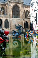 Sculpture Garden, Pompidou Center, Paris